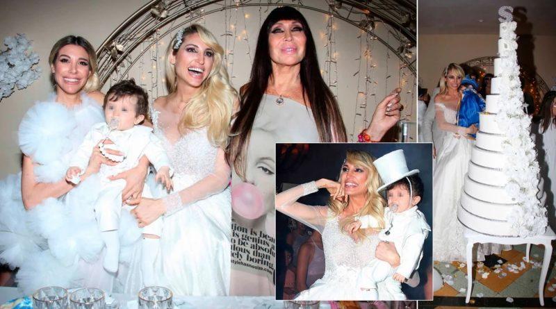 Vicky Xipolitakis celebró el primer cumpleañitos de Salvador Uriel: todas las fotos del excéntrico festejo –