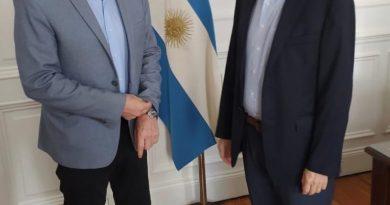 Gay se reunió con Santiago Cafiero y Gustavo Béliz
