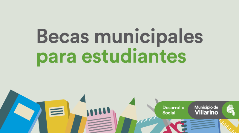 En febrero abrirán las inscripciones de las Becas Municipales para estudiantes