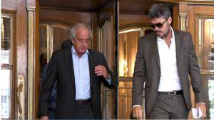 D'onofrio y Tinelli, presidentes de los clubes más deudores