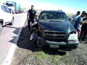 Ruta 33, sector de accidentes viales