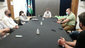 Reunión municipal para intensificar cuidados en el trasporte público
