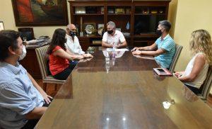 Gay y Romera entregan recomendaciones ciudadanas para la renovación del Parque Independencia al Colegio de Arquitectos