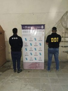 Diligencia en Bahía Blanca por DDI