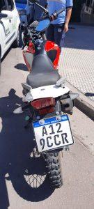 Moto de pedidos ya en accidente en pleno centro bahiense