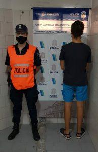 El detenido involucrado en el robo de una bici