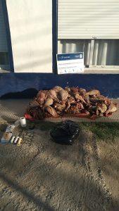 Carne secuestrada en Harding Green