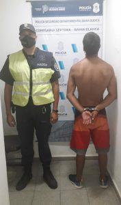 Sujeto detenido tras robo en comercio de ropa