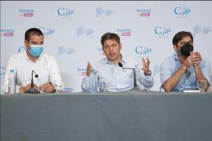 Kicillof en conferencia de prensa