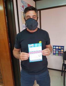 El político y abogado bahiense Andrés Castillo recibió la vacuna Sputnik V