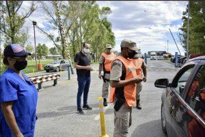 Susbielles en los controles de seguridad y sanidad en el Puerto de Bahía Blanca