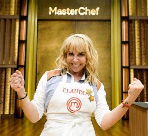 Claudia Villafañe ganadora de MasterChef Celebrity Argentina
