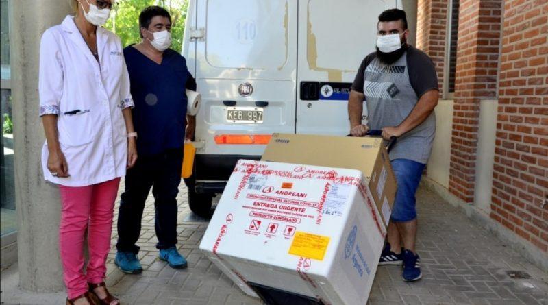 Llegan vacunas rusas al país