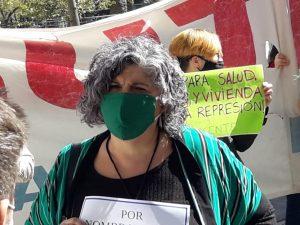 Ana Canullo, Secretaria Gremial de Suteba Bahía Blanca