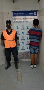 Roldán hijo detenido por tenencia ilegal de armas