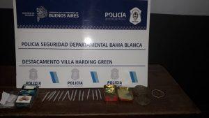 Secuestro marihuana Villa Harding Green