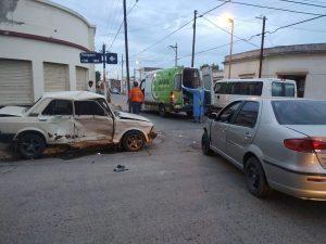 Choque en Tarapaca y Nueva Provincia