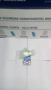 Droga hallada en operativo policial Bahía