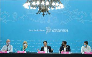 Conferencia de prensa del Gobierno provincial