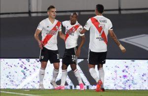Borré, De la Cruz y Suárez en la victoria de River frente a Central