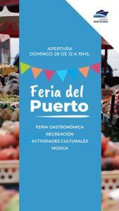 Feria del Puerto en Bahía Blanca