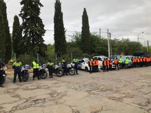 Operativo policial en Bahía Blanca