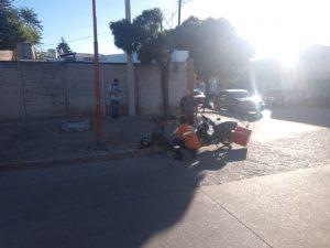 Choque en Bahía Blanca