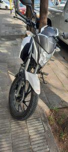 Moto accidente en Charlone y Vieytes