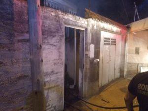 Incendio en una vivienda bahiense