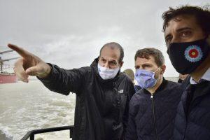 Susbielles, Costa y Lucero en el estuario