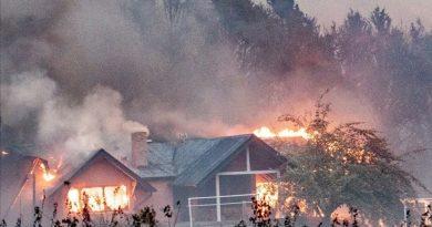 Fuego en la Patagonia