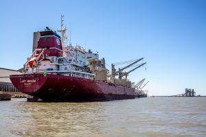 Récord de exportaciones en el Puerto de Bahía Blanca