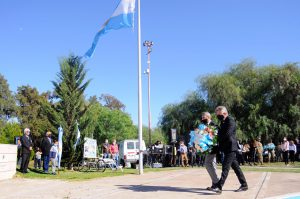 Acto oficial por la gesta de Malvinas en Bahía Blanca
