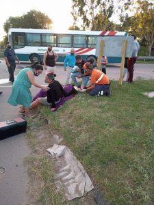 Siniestro vial en Bahía Blanca