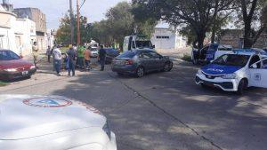 Choque en Avenida Pringles Bahía Blanca