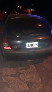 Automóvil protagonista de accidente vial en Bahía Blanca
