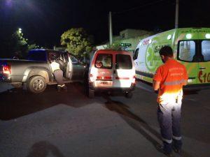 Siniestro en Avenida La Plata y Tucumán