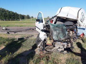 Choque fatal en Ruta 33