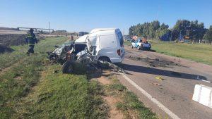 Siniestro vial en Ruta 33 con un fallecido