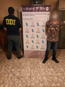 Detenido con armas y droga en Bahía Blanca