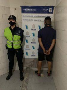Detenido por robo en Bahía