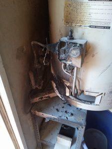 Explotó un termotanque en Lauquen