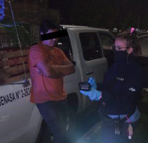 Circulaban borracho en Vieytes y 17 de mayo