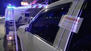 Camioneta secuestrada en Vieytes y 17 de mayo