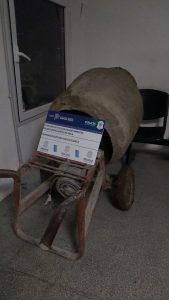 Hormigonera robada en Bahía Blanca