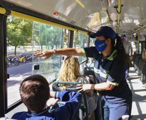 Controles en transporte público por coronavirus