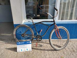 Bicicleta secuestrada a acosador bahiense
