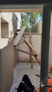 Obrero cayó de la altura en Mitre al 600