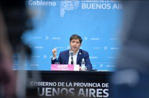 Kicillof anunció nuevas medidas ante la segunda ola de coronavirus