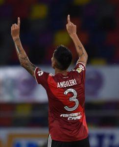 Angileri abrió el marcador en Santiago del Estero